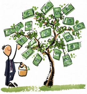 Picking From The Money Tree
